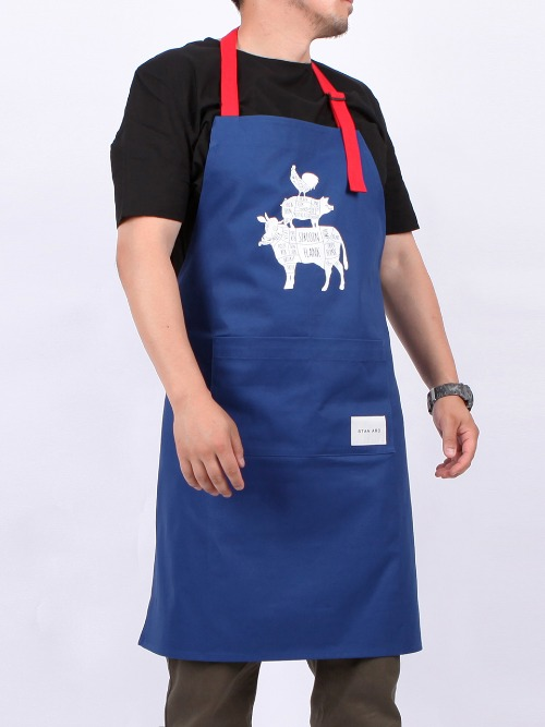 Chicken Pig Cow Apron